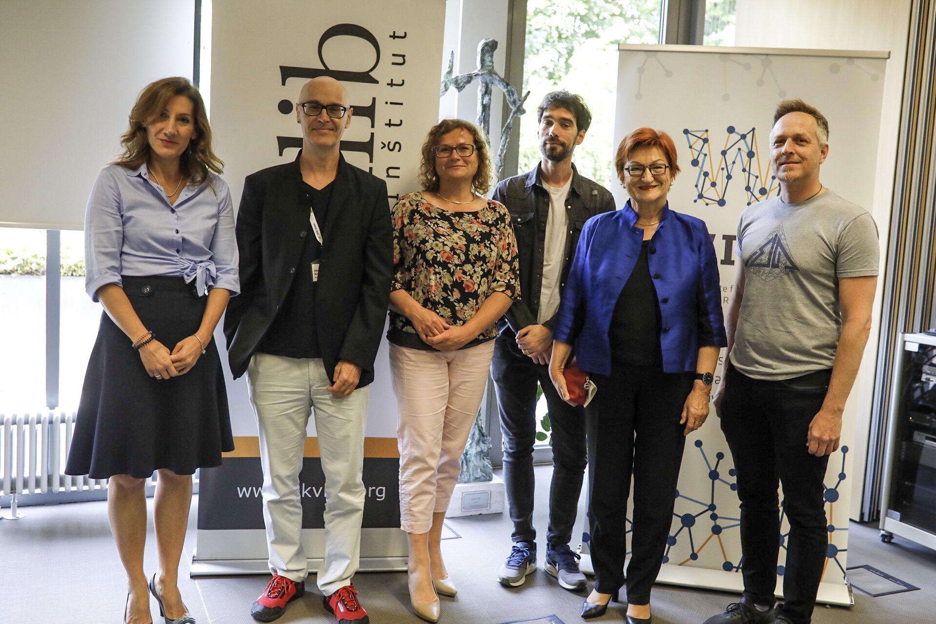 Natasa Lazareski, Aleš Kranjc Kušlan, Sonja Klopčič, Miha Blažič, Danica Purg, Matej Fegus