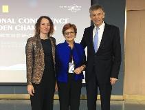 Dr. Bracek Lalic, Prof. Purg, Prof. Simon za splet